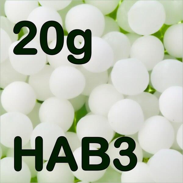 20g Rohglobuli HAB3