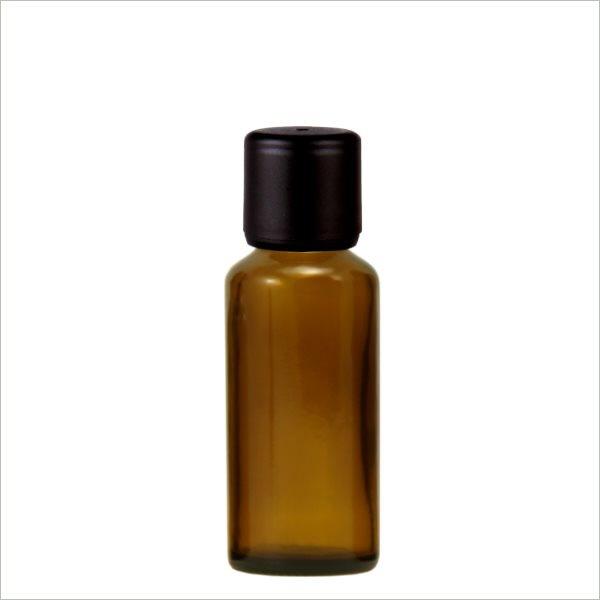 Apothekenflasche 20ml schwarzer Verschl. (AGR 6mm)