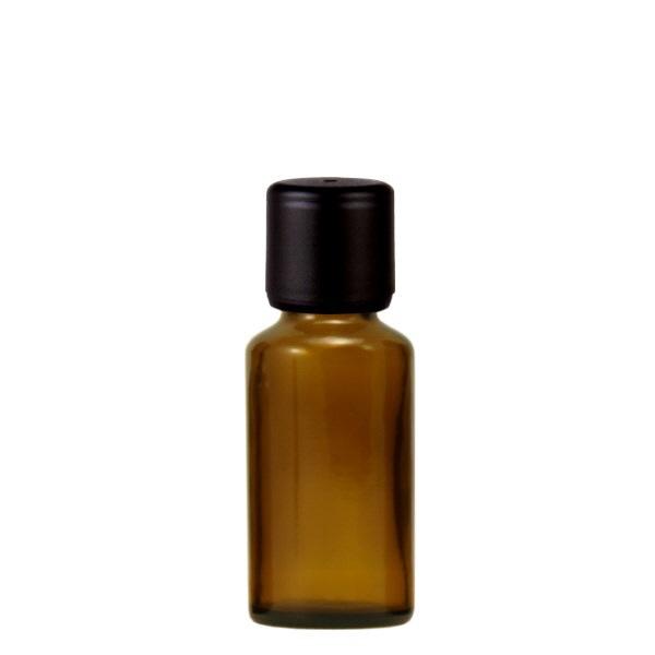 Apothekenflasche 10ml schwarzer Verschl. (AGR 6mm)