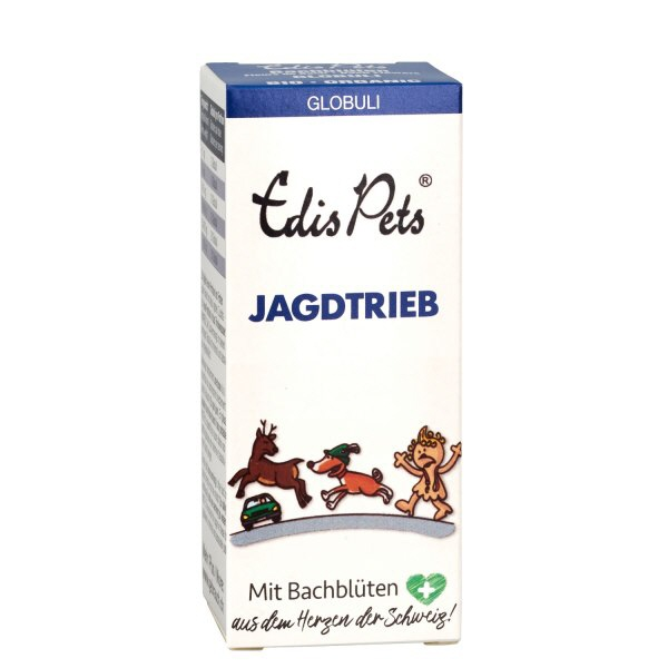 Jagdtrieb » Edis Pets Bio Bachblüten für Hunde
