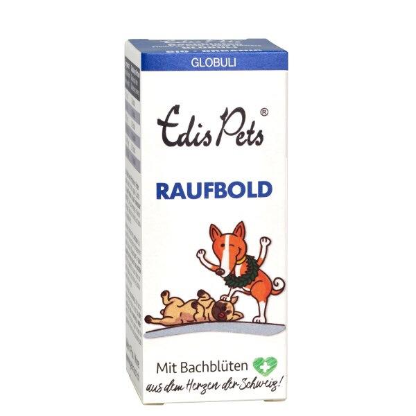 Raufbold » Edis Pets Bio Bachblüten für Hunde